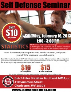 Butch Hiles Self Defense Seminar